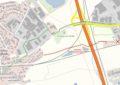 Geh- und radwegssperrung Herzogsweg